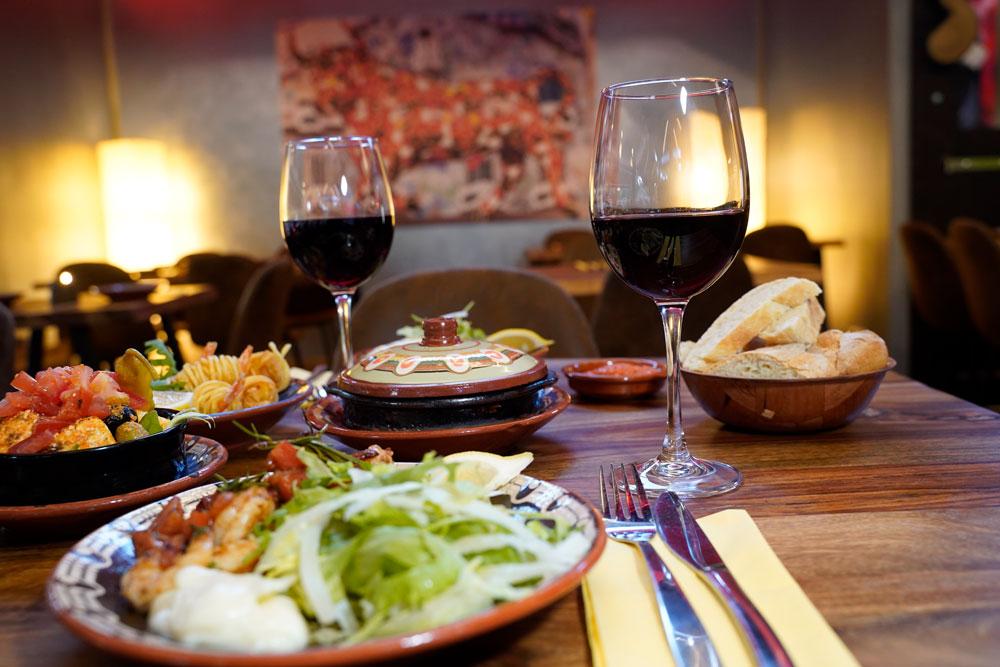 Spanischer Wein, Hauswein   Tapas Bar Sankt Augustin