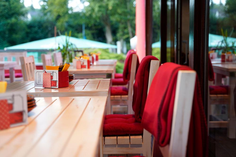 Tapas Bar mit Außenbereich / Terrasse